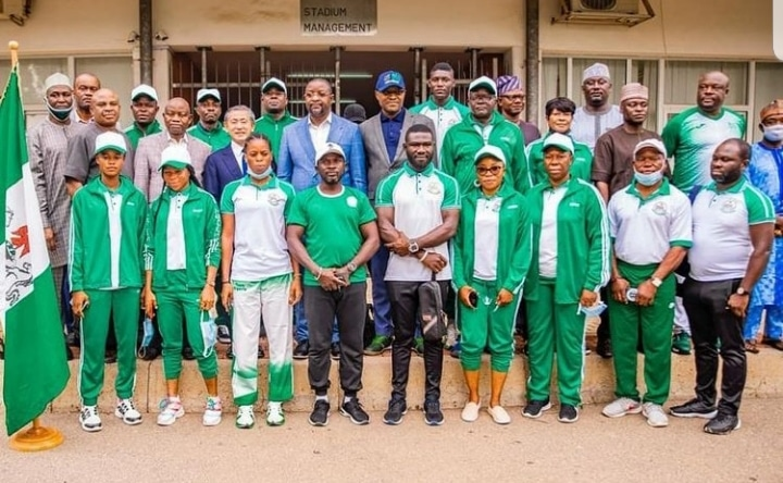 'Be Good Ambassadors Of Nigeria At Tokyo 2020' –Acting Ambassador To Japan Charges Team Nigeria