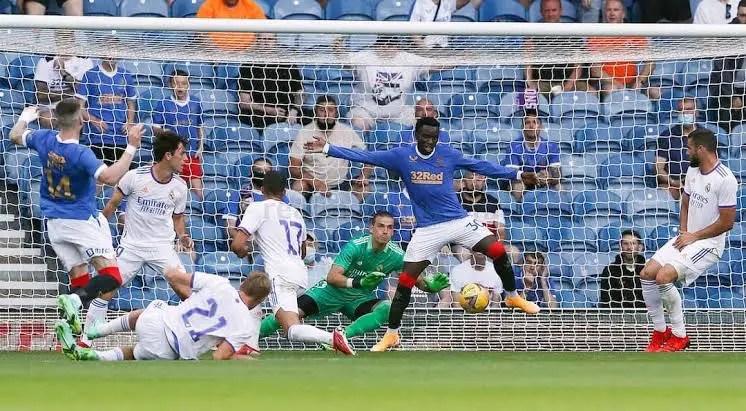 Balogun Helps Rangers Beat Real Madrid In Final Pre-season Friendly