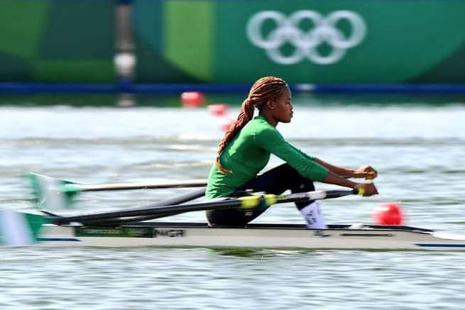 Tokyo 2020: Esther Toko Finishes On A High In Rowing Event