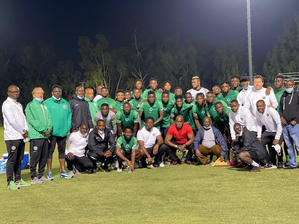 Pinnick Charges Home Eagles To Beat Mexico, Claim Big Stardom; Promises October Friendly