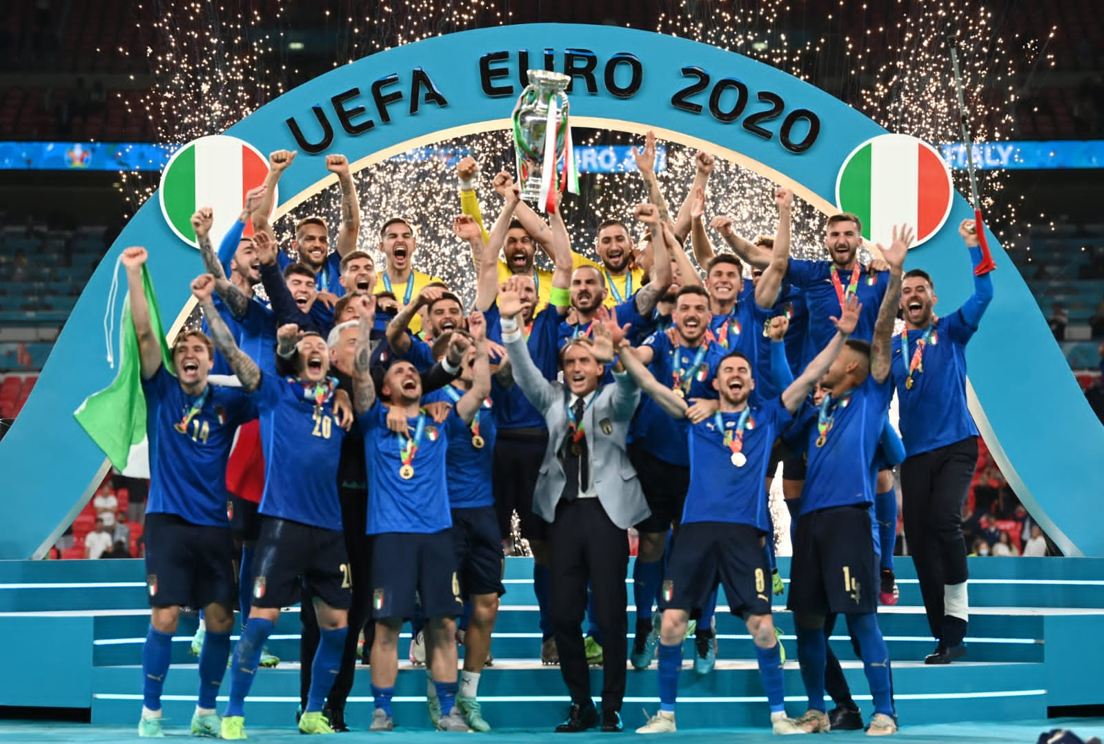 Updated: Italy Beat  England On Penalties To Win Euro 2020