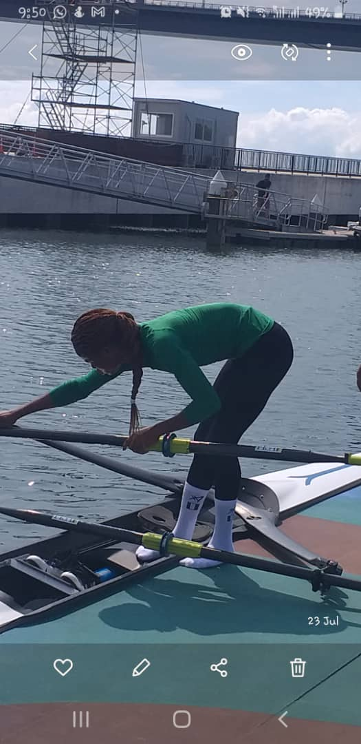 Tokyo 2020: Nigeria's Toko Places Fifth In Women's Rowing Event
