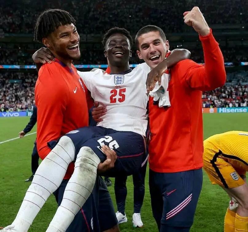 Euro 2020: Saka Makes History In England vs Denmark Semi-final