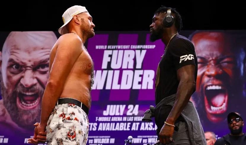 Fury Vs Wilder Trilogy Fight Get New Date