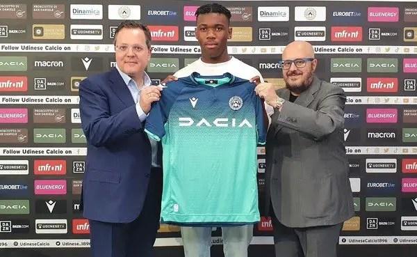 Nigerian- Born  Defender Destiny Udogie Joins Udinese On Loan