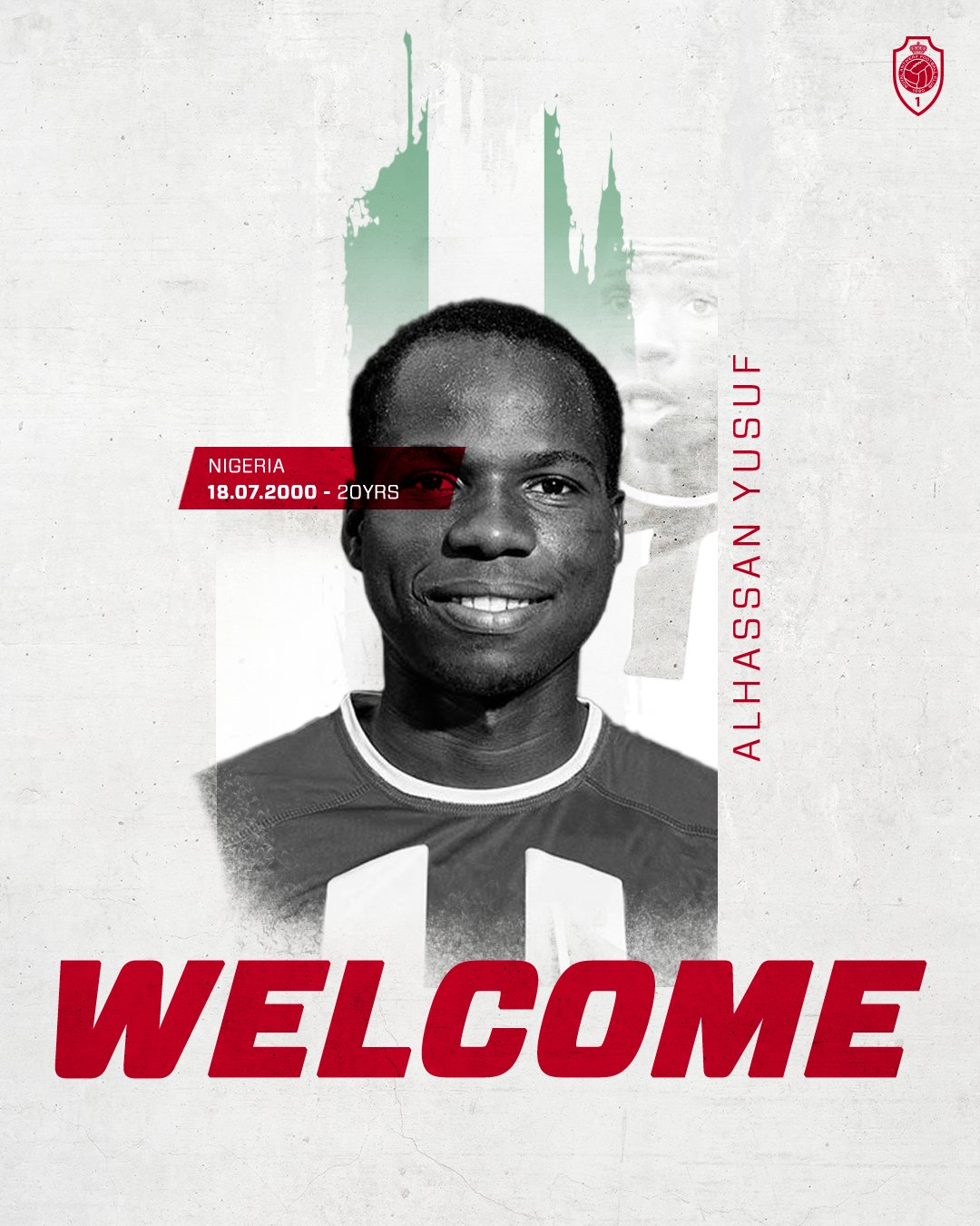 Done Deal: Alhassan Yusuf Joins Belgian Club  Royal Antwerp On Four-Year Contract