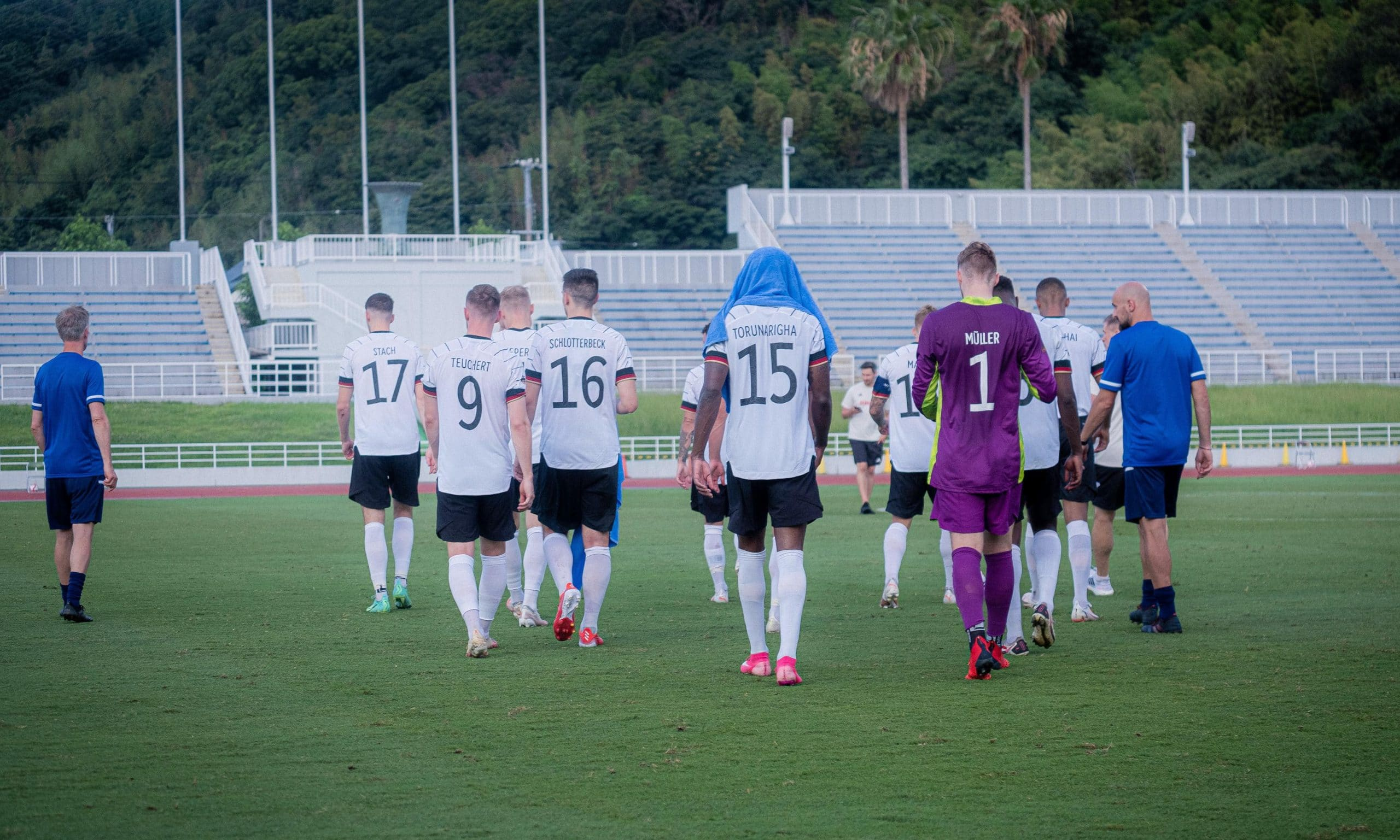 Tokyo 2020: Germany's  Men's Football Team  Walk Off Pitch After  Torunarigha Allegedly Racially Abused