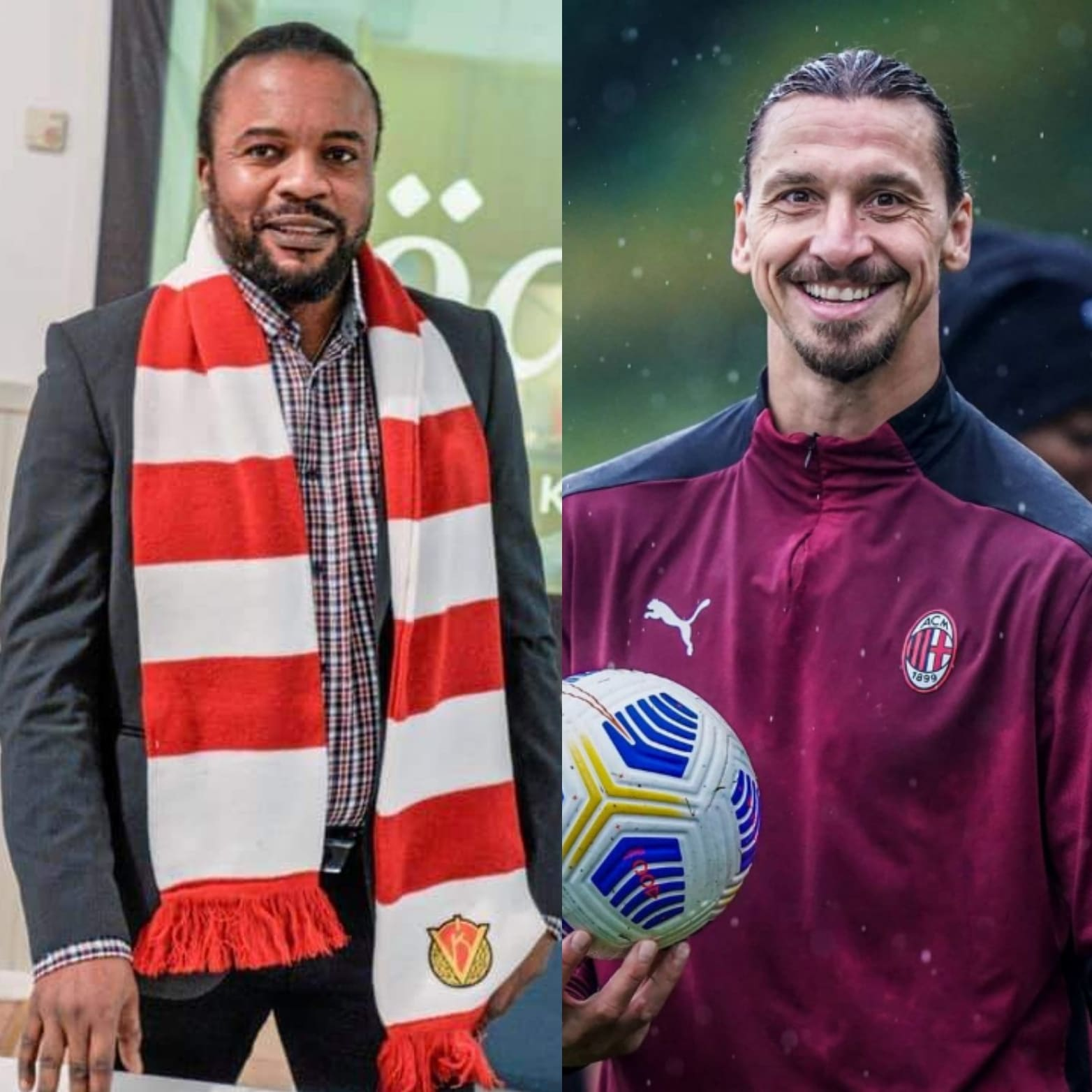 Ijeh: 'How I Mentored Sweden Legend Ibrahimovic And Got Credit In His Book'
