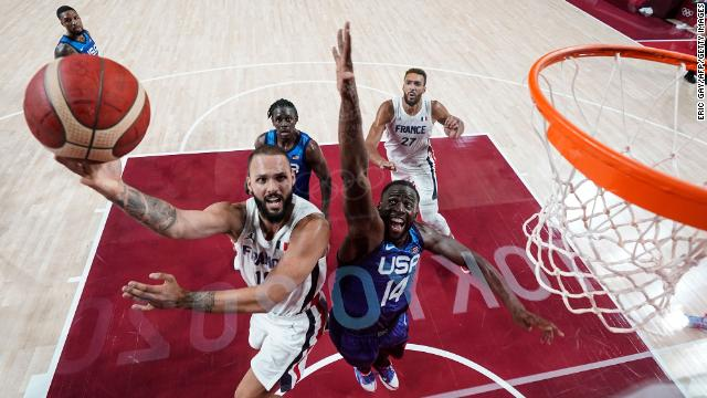 Tokyo 2020 Basketball: France Upsets USA In First Group Game