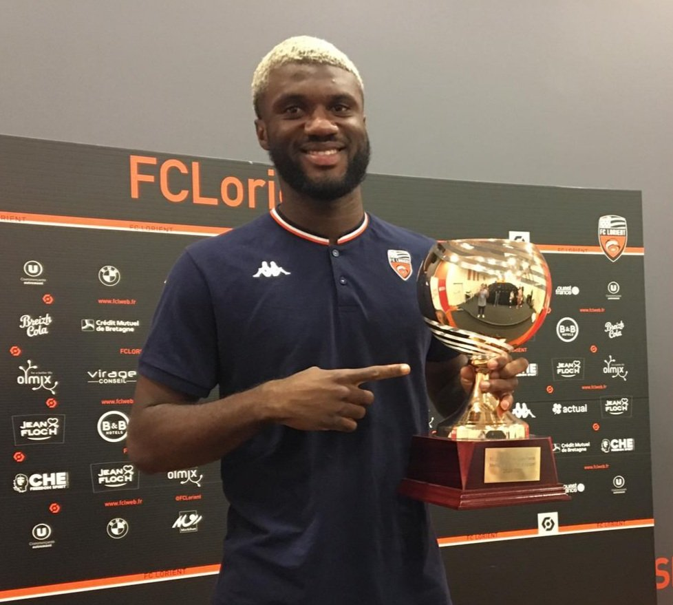 Terem Moffi Named Lorient Player Of The Season