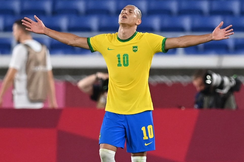 Tokyo 2020: Everton Forward Richarlison Makes History With Hat-Trick For Brazil Vs Germany
