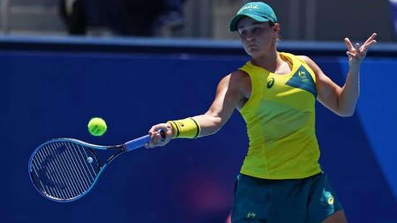 World No.1 Barty Suffers Shock Defeat In First Round Of Tokyo Olympics