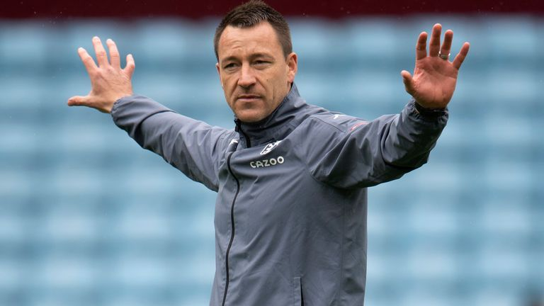 Terry Quits Role As Assistant Manager At Aston Villa