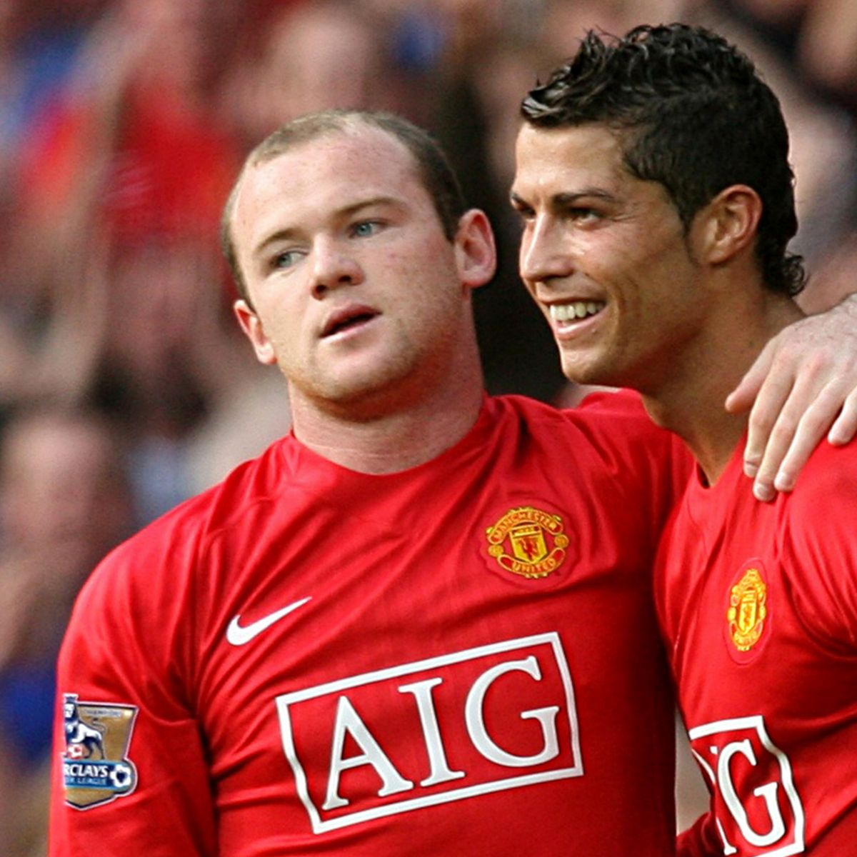 Rooney Reacts To Cristiano Ronaldo's Link To Man City