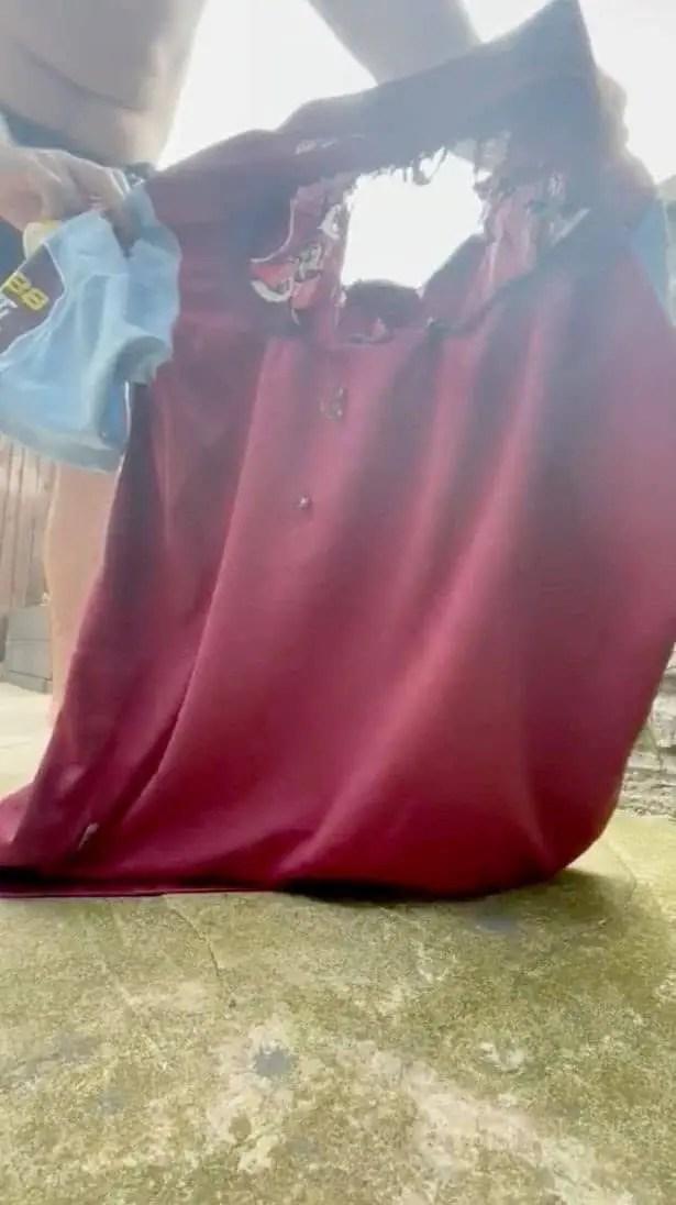 Heartbroken Villa Fan Burns Grealish Shirt Over Man City Move