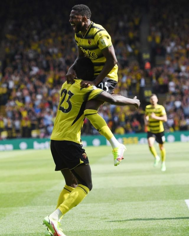 Dennis, Etebo Up For Watford Player Of The Month Award