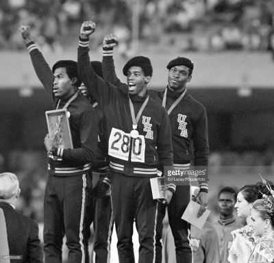 sport-black-race-ron-freeman-lee-evans-larry-james-1968-olympics