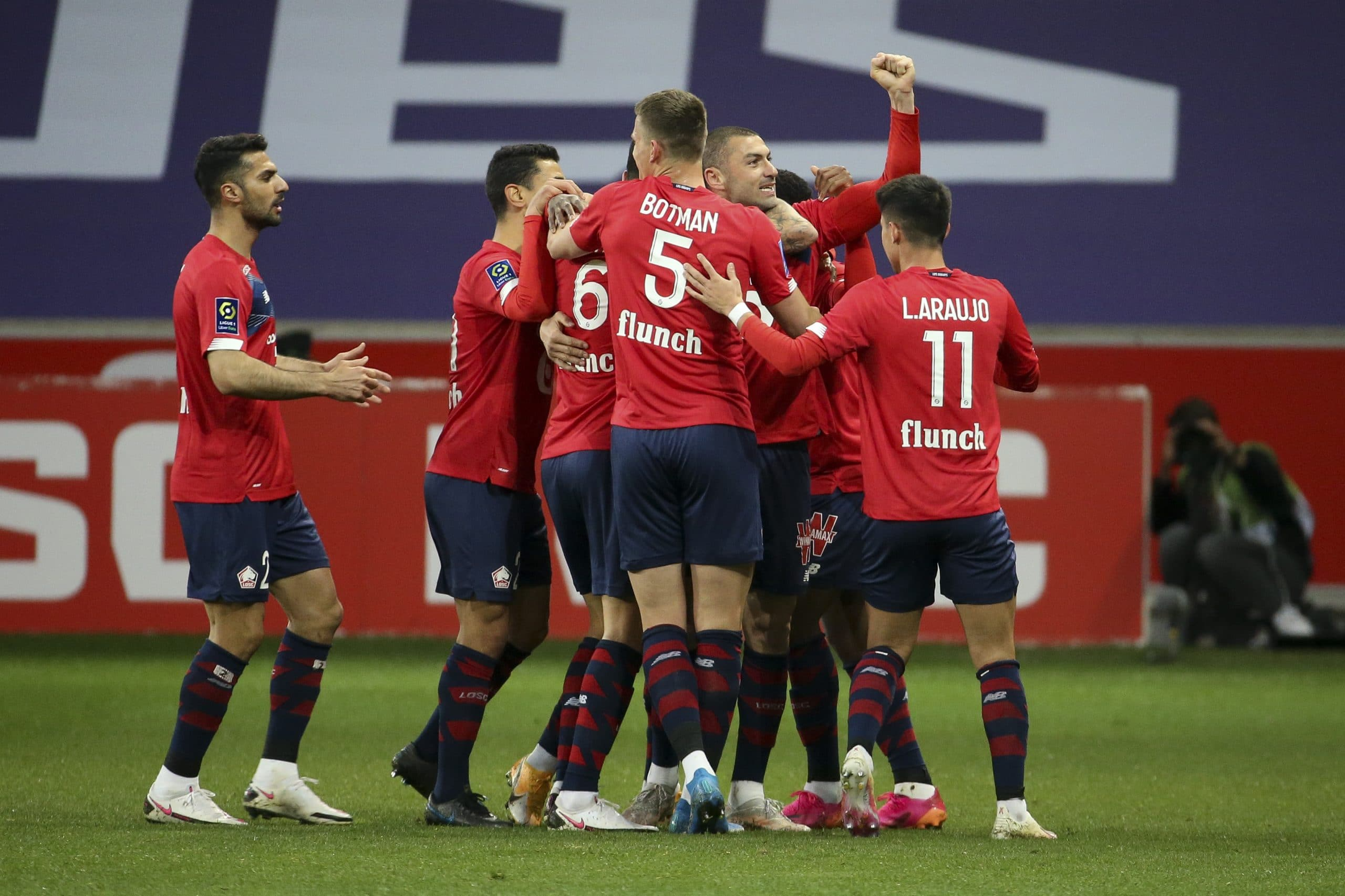 Lille Beat PSG To Claim First Ever French Super Cup Title