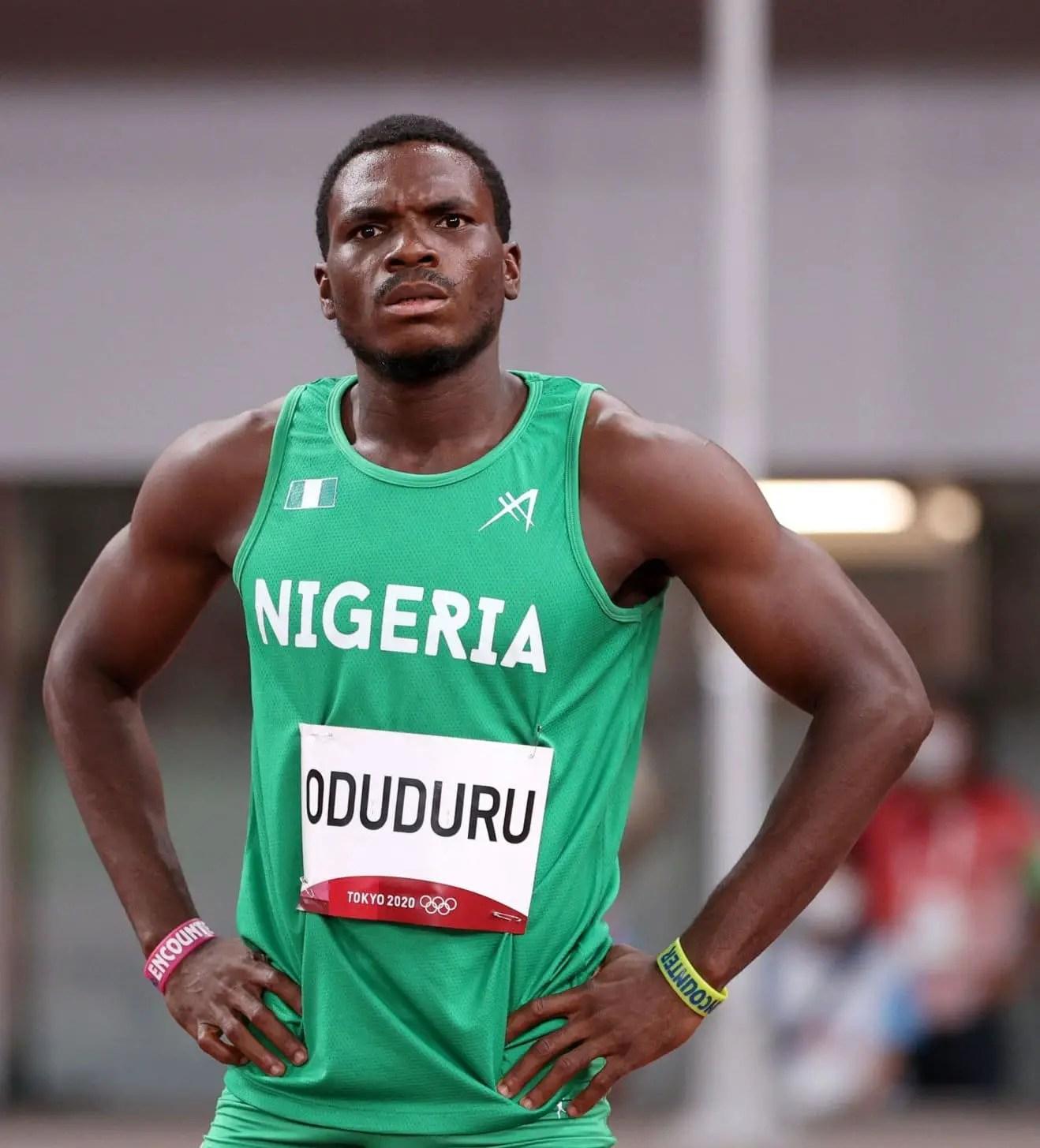 Tokyo 2020 : Divine Oduduru Fails To Make Men's 200m Final