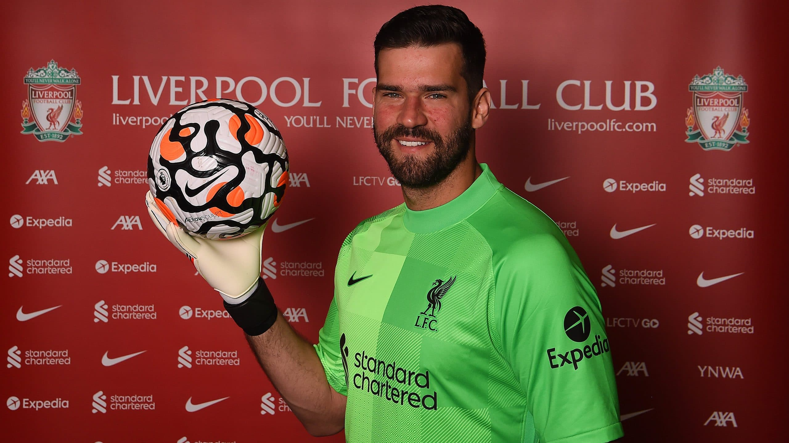 Alisson Signs New Six-Year Contract At Liverpool