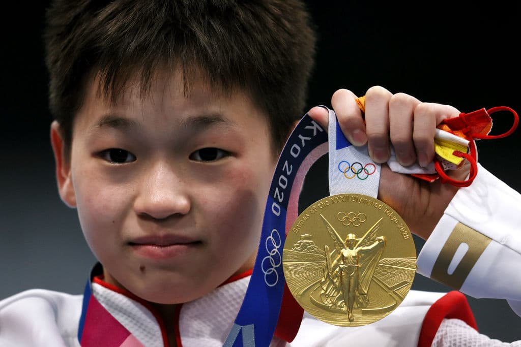 Tokyo 2020: 14-Year-Old Chinese Athlete Wins Gold In Diving