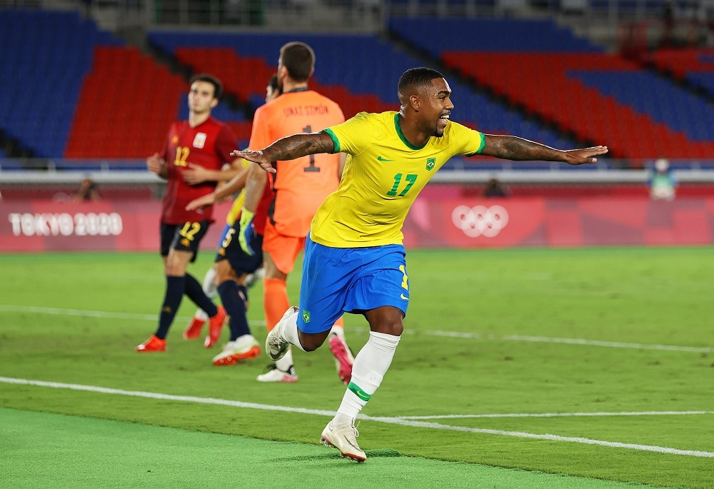 Tokyo 2020: Brazil Edge Spain In Final, Defends Olympic Football Gold
