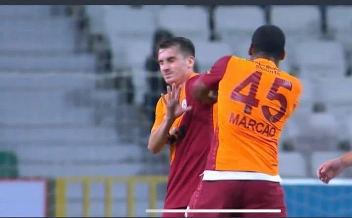 Galatasaray Star Sent Off After Punching And Headbutting Teammate