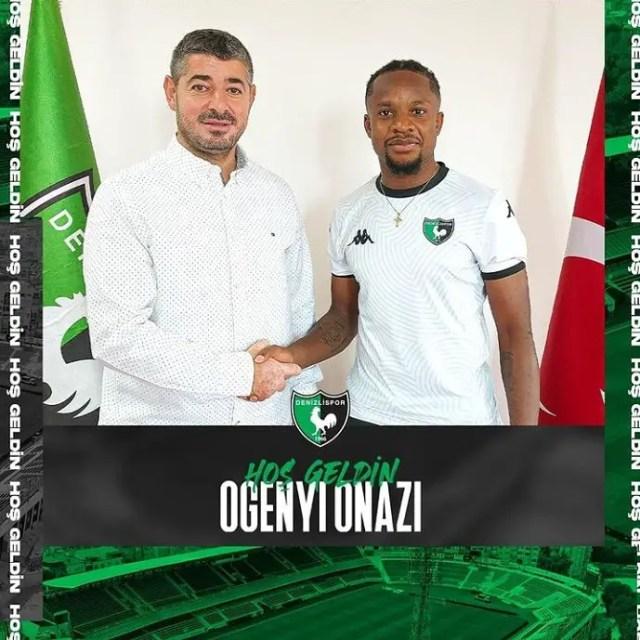 Done Deal: Onazi Rejoins Turkish Club Denizlispor On One-Year Contract