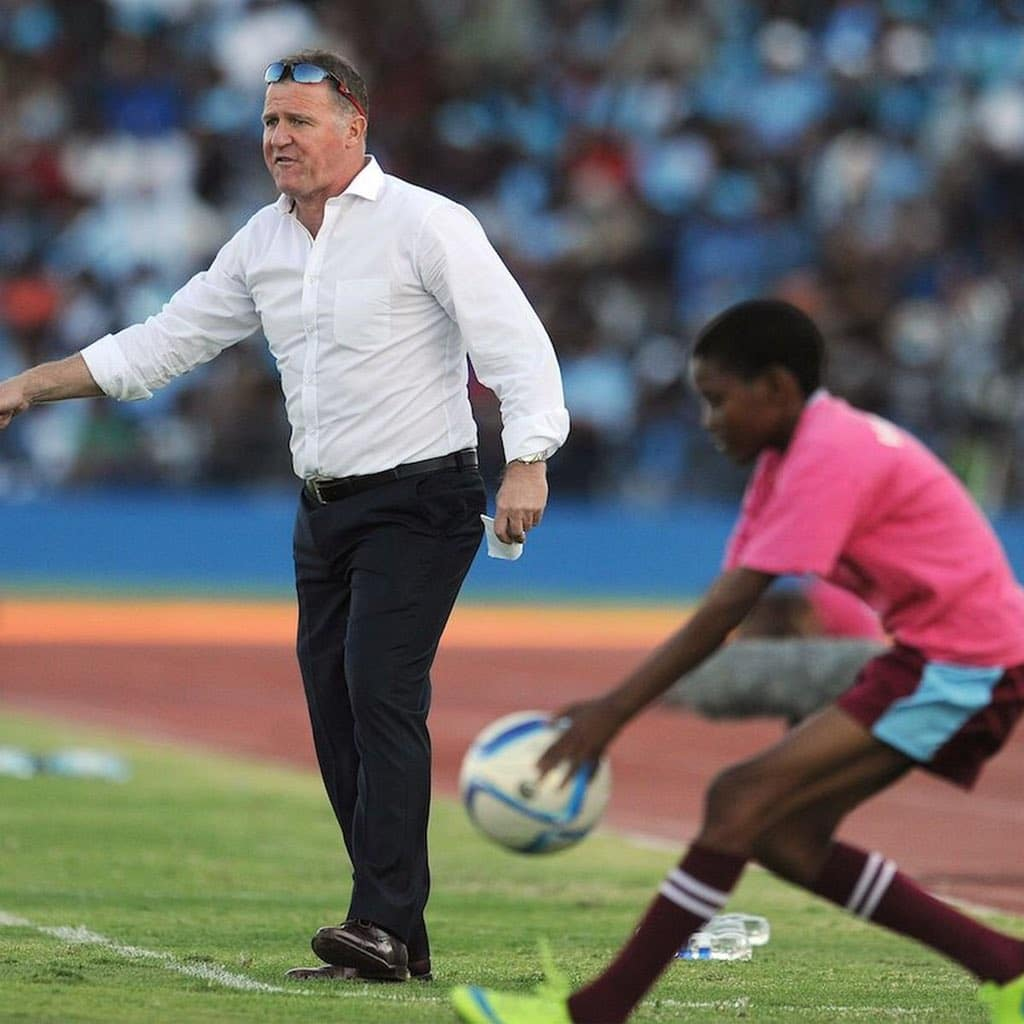 Liberia Coach Butler Targets Victory Against ' Star -Studded' Super Eagles