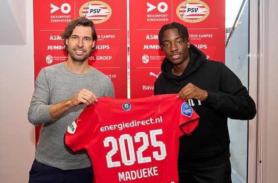 Noni Madueke Signs New Four-Year Contract At PSV