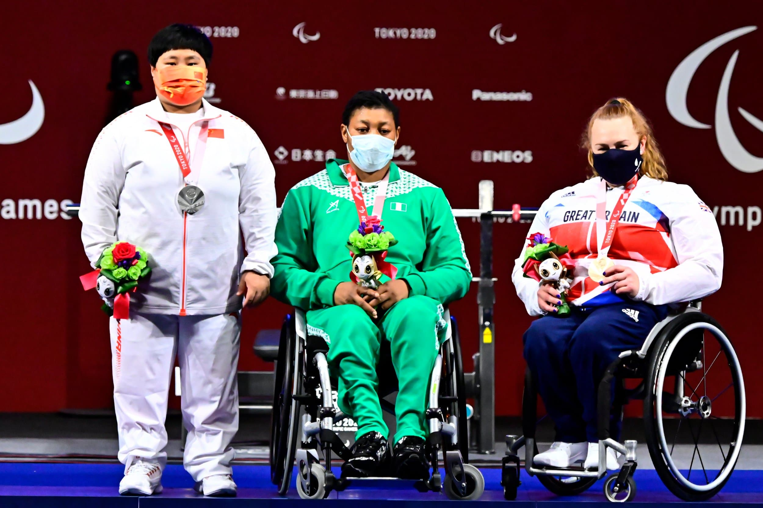Oluwafemiayo Breaks World & Paralympic Records To Win Gold In Powerlifting