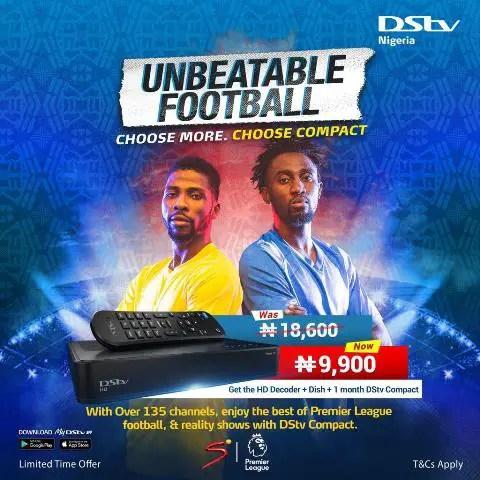 Ndidi And Ihenacho Star In Brand New TVC For DStv Compact