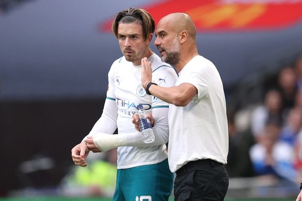 I'm Impressed With Grealish's Performance Against Leicester City -Guardiola