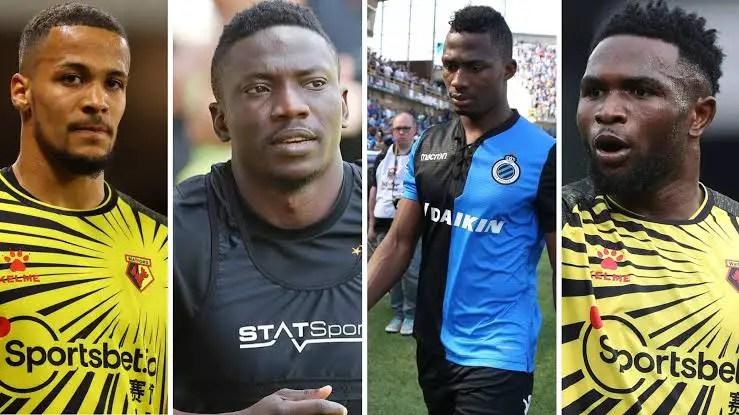 Troost-Ekong, Etebo, Iwobi, Onyeka Know Carabao Cup Opponents