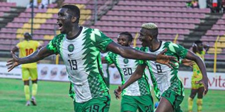 Exclusive: 2022 World Cup Qualifiers: Super Eagles Strikers Must Be Ruthless In Front Of Goal -Akpoborie