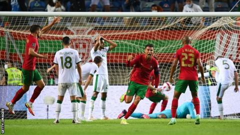 2022 WCQ: Ronaldo Sets New Record After Late Brace Against Republic Of Ireland