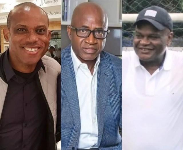 nigerian-football-sunday-oliseh-segun-odegbami-adokiye-amiesimaka-president-muhammadu-buhari-federal-ministry-of-youth-and-sports-development