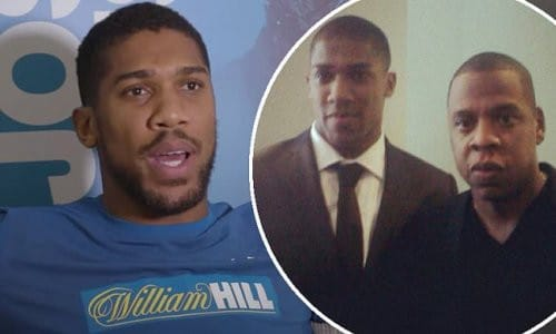 My First Experience With Jay-Z Was Terrifying -Anthony Joshua
