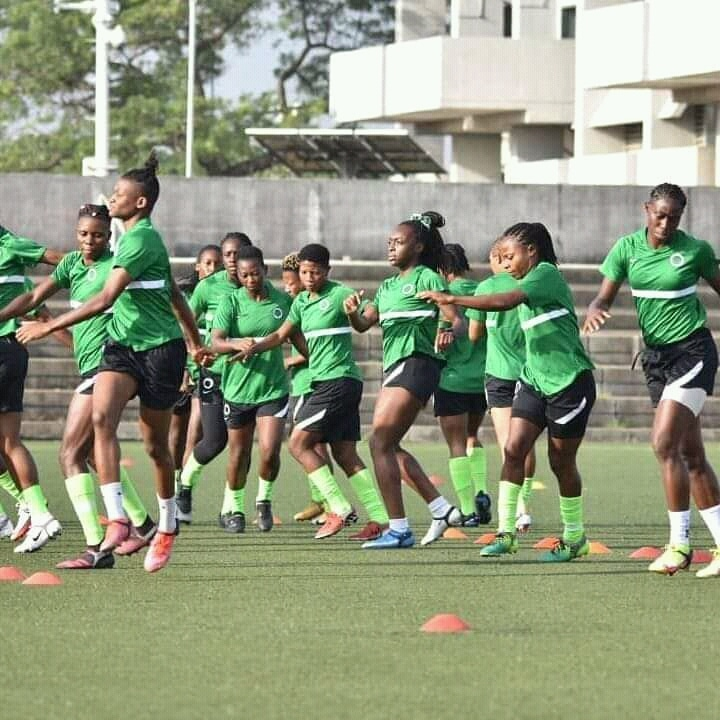 ABC: Super Falcons, Mali  Train At MJA As All Is set For kick-Off