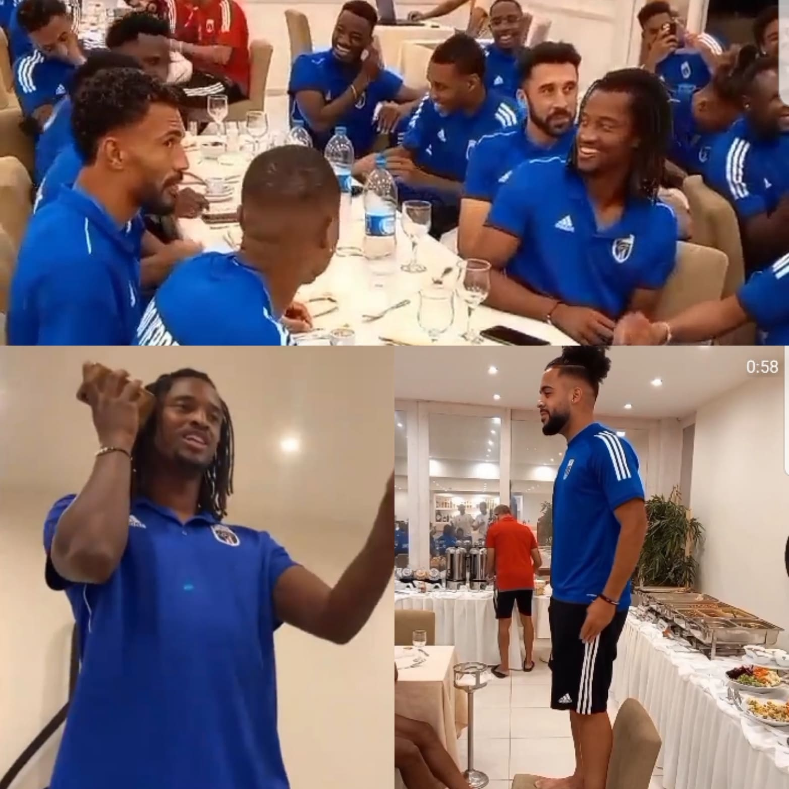 Blue Sharks Induct New Players In Fun Session Ahead Super Eagles Clash