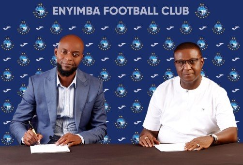 OFFICIAL: Enyimba Appoint Finidi George New Head Coach