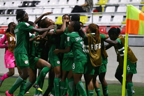 FIFA U20 WWCQ: Falconets Thrash CAR 7-0 In Douala