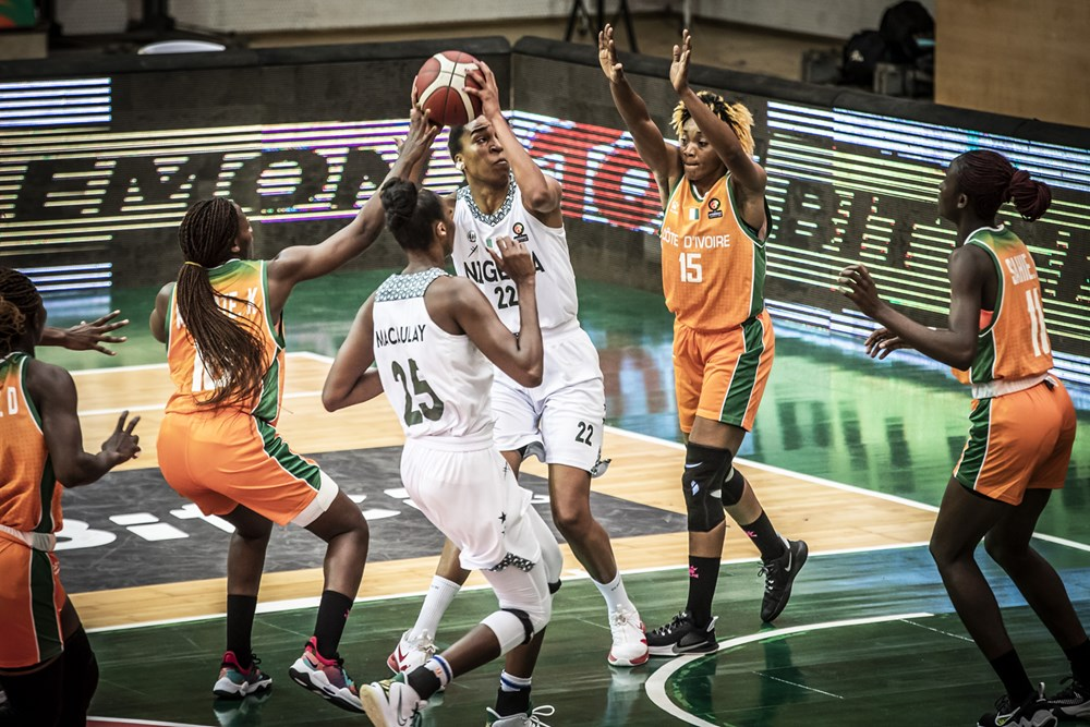 2021 AfroBasket: D'Tigress Overcome Ivory Coast To Qualify For Semi-finals