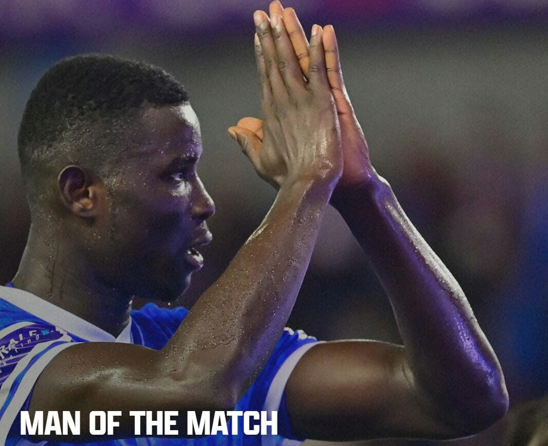 Onuachu Named Genk's Man Of The Match After Hat-trick Heroics