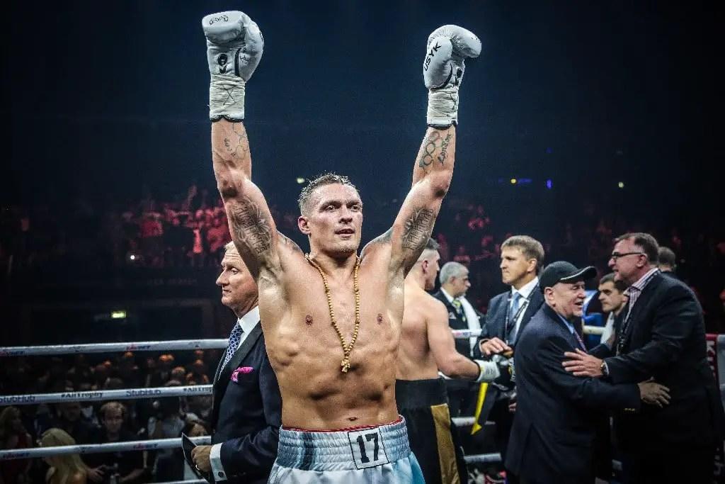 Usyk Dedicates Victory Over Joshua To God
