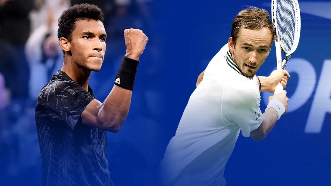 Medvedev, Auger-Aliassime Battle For US Open Final Spot