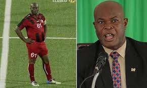 How Suriname Vice President Became Oldest Player To Play Competitive Football (See Photos)