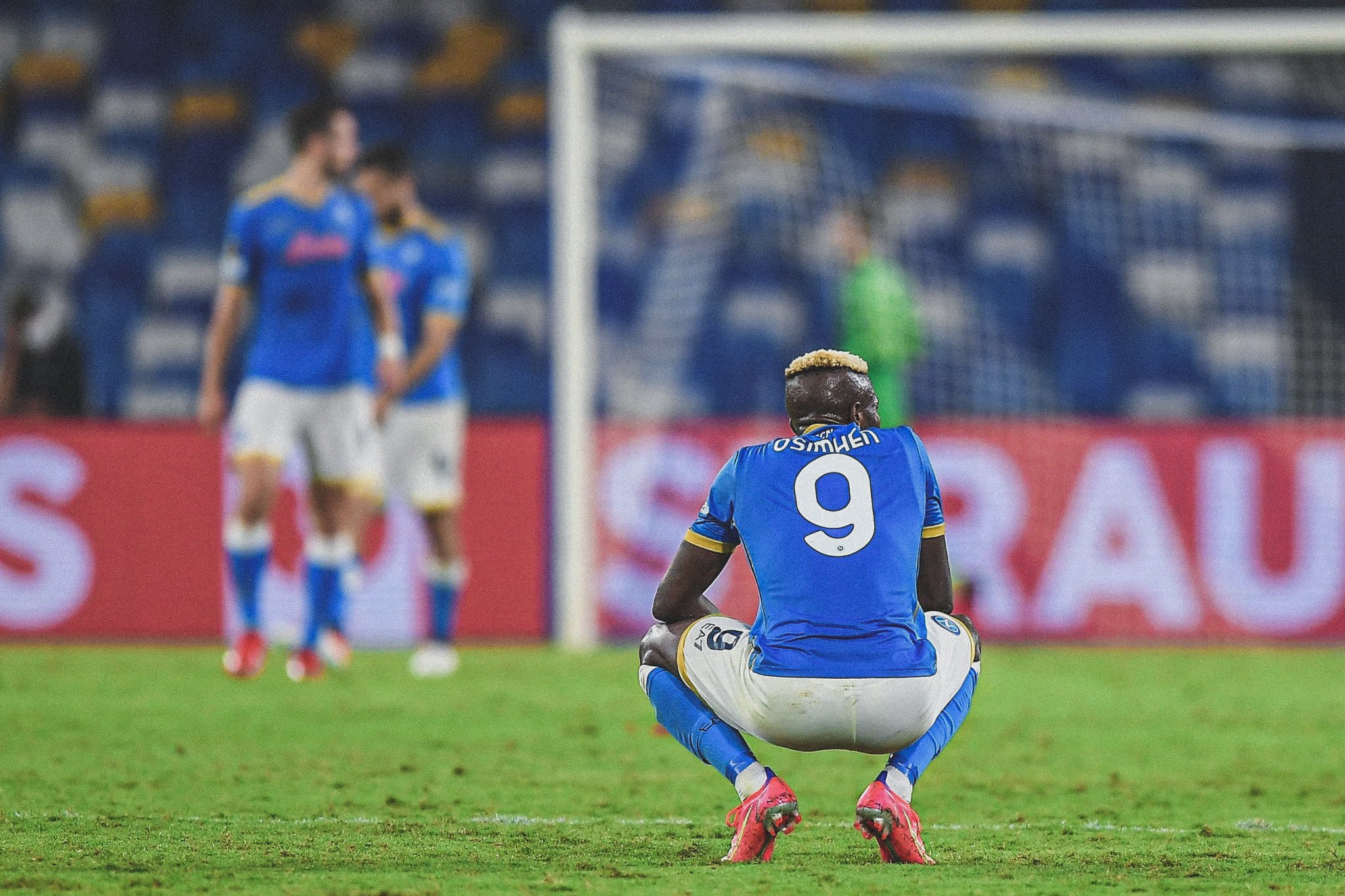 Europa: Osimhen Reacts To Napoli's Home Loss To Spartak Moscow