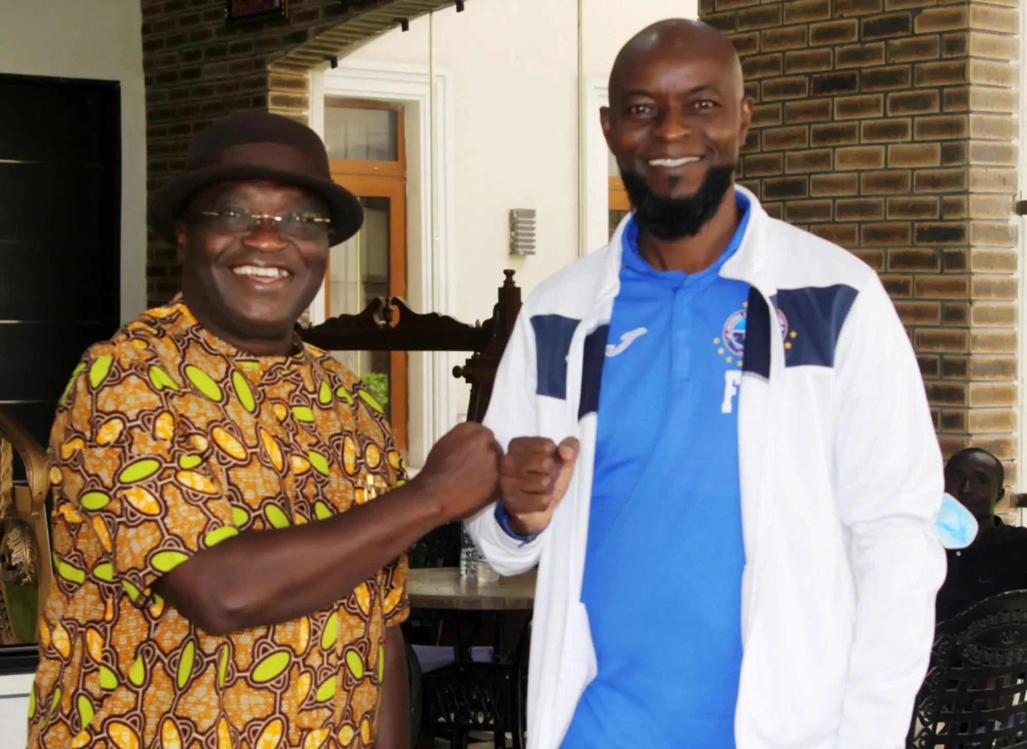 Finidi: 'I'm Proud Enyimba Have Football Icon As Coach'   –Governor Ikpeazu
