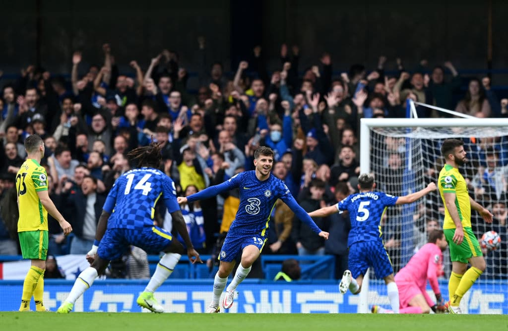 Premier League: Mount Hits Hat-Trick As Chelsea Thrash Norwich City 7-0